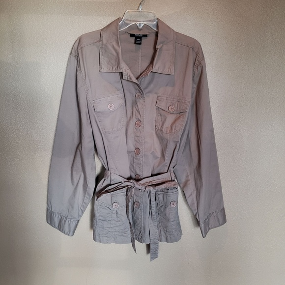 Style & Co Jackets & Blazers - Button up Style & Co jacket in EUC